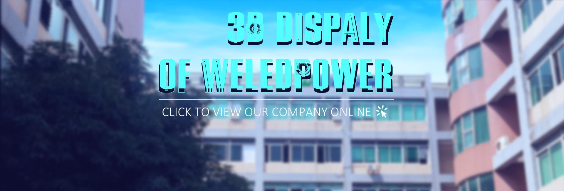 3D display of wledpower